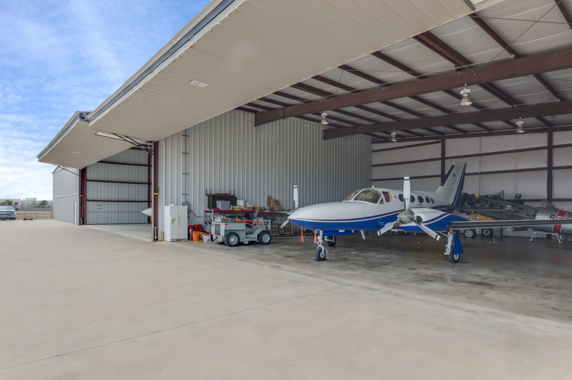 4650 Clear Star Street Denton Texas Airspace