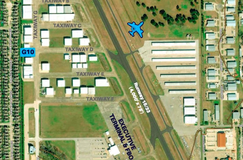 Hangar Available for Sell or Lease in Texas - see all properties