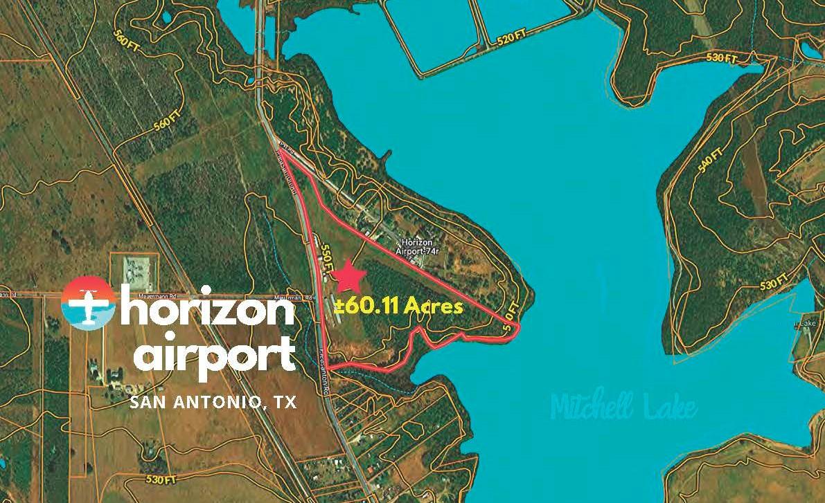 13680 Pleasanton Road, San Antonio, Texas 78221 - Airspace